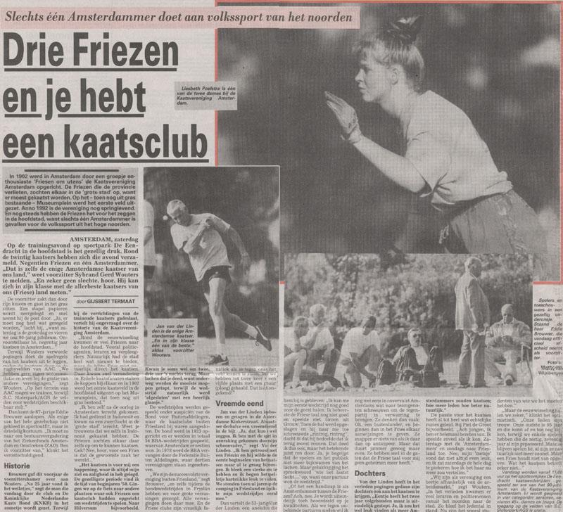 23-05-1992: Nieuws van de dag