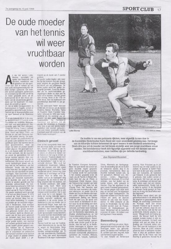 06-06-1994: Sportclub