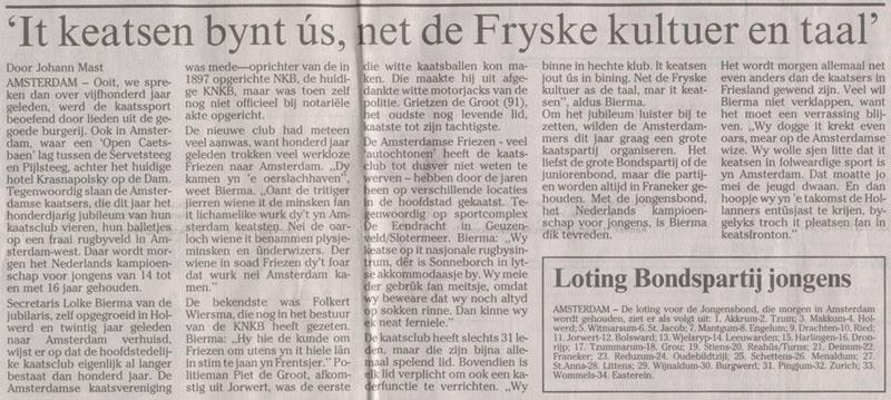 31-05-2002: Leeuwarder Courant