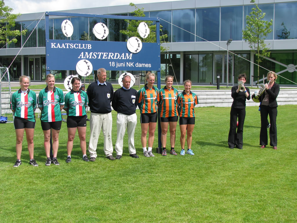 NK Dames 2011 finale te Amsterdam